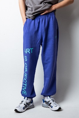 Object오브젝트 ART IS OBJECTIVE SWEATPANTS (PURPLE)