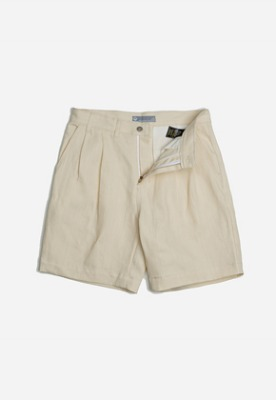 FRIZMWORKS프리즘웍스 Two tuck wide shorts _ oatmeal