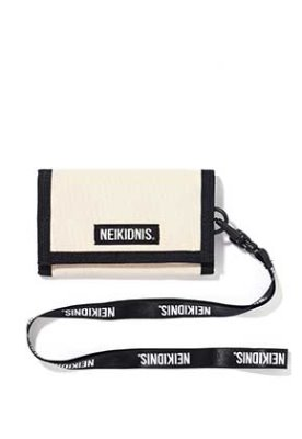 NEIKIDNIS네이키드니스 VELCRO WALLET / LIGHT BEIGE