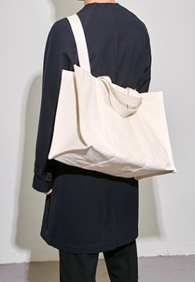 HAH ARCHIVE하 아카이브 4WAY COATED HEAVY CANVAS BAG