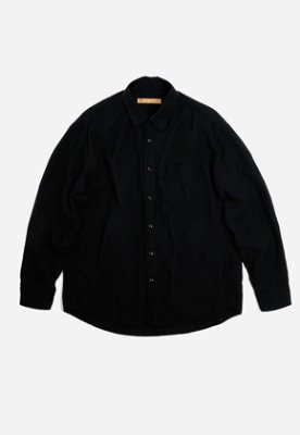 FRIZMWORKS프리즘웍스 OG Dobby weave seersucker shirt _ black