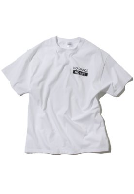 Kruchi크루치 NO DANCE NO LIFE T-Shirt - (White)