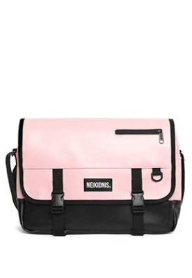 NEIKIDNIS네이키드니스 [레더] ICON MESSENGER BAG / LEATHER PINK