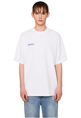 Lab101랩원오원 YOUTH BLUE POCKET PRINT TEE