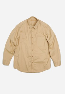 FRIZMWORKS프리즘웍스 OG Hyperdensity cotton shirt _ beige