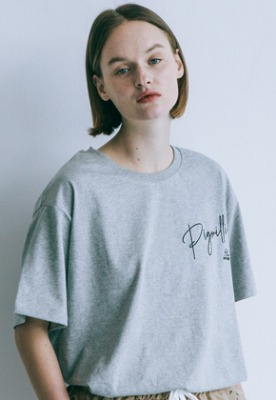 Pig million피그밀리언 [PIGMILLION x DOPAMIN.C] Slot Machine Tee (GREY)