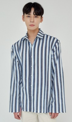 Trip LE Sens트립르센스 TLS STRIPE SHIRTS 1926 BLUE