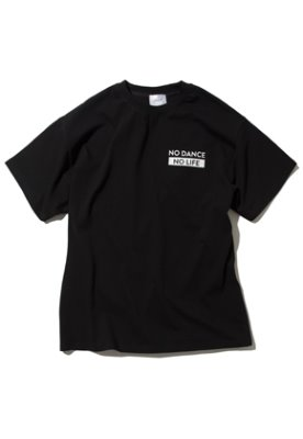 Kruchi크루치 NO DANCE NO LIFE T-Shirt - (Black)