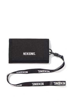 NEIKIDNIS네이키드니스 VELCRO WALLET / BLACK