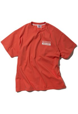 Kruchi크루치 NO DANCE NO LIFE T-Shirt - (Orange)