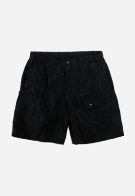 FRIZMWORKS프리즘웍스 Rustling short pants _ black