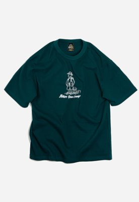 FRIZMWORKS프리즘웍스 Nature base camp tee _ dark green