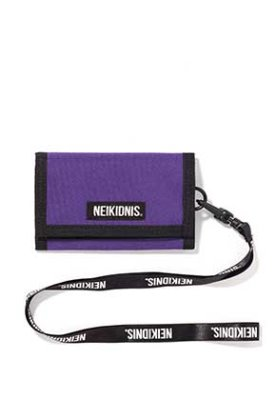 NEIKIDNIS네이키드니스 VELCRO WALLET / PURPLE