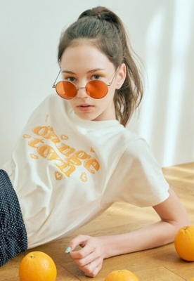 Margarin Fingers마가린핑거스 Orange town T shirt