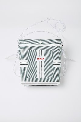 SKRAP스크랩 [SKRAP] AWNING sacoche bag Green stripe