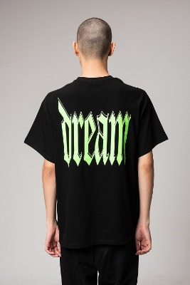 Object오브젝트 DREAM T-SHIRT (BLACK)