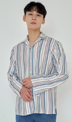 Trip LE Sens트립르센스 TLS STRIPE SHIRTS 1912 BLUE