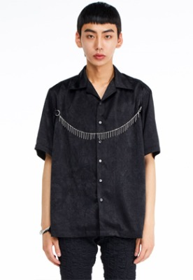 The Greatest더 그레이티스트 GT19SUMMER 03 Chain Shirt BLACK