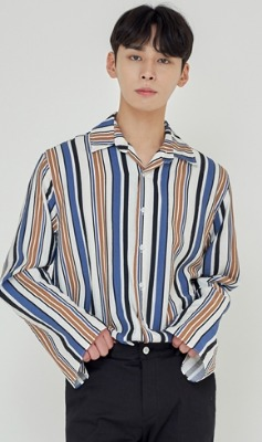 Trip LE Sens트립르센스 TLS STRIPE SHIRTS 1923 BLUE