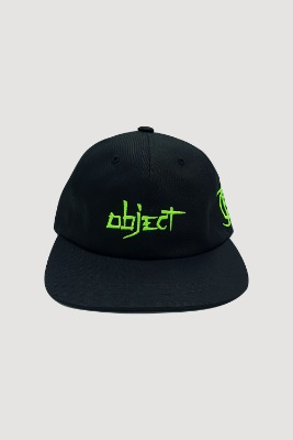 Object오브젝트 OBJECT 2019 LOGO CAP (BLACK)