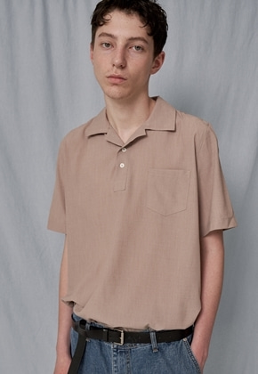 Trip LE Sens트립르센스 COLOR LINEN PK SHIRTS BEIGE