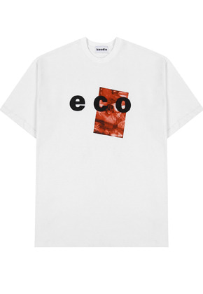 INNER CITY AUDIO이너시티오디오 ECO GRAPHIC T-SHIRTS WHITE