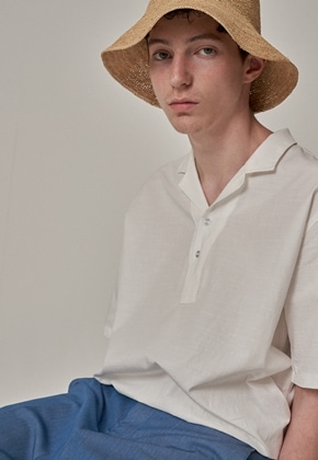 Trip LE Sens트립르센스 CRUISE LINEN PK SHIRTS WHITE
