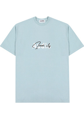 INNER CITY AUDIO이너시티오디오 SIGNATURE LOGO T-SHIRTS MINT