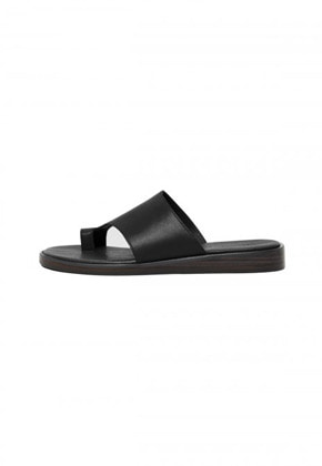 Anderssonbell앤더슨벨 ANDERSSON CROSSOVER LEATHER SANDALS aaa218m(Black)