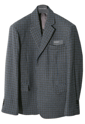 MISTER CHILD미스터차일드 hidden check jacket (GREY)