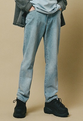 Lab101랩원오원 TOM BASIC STONE WASHING DENIM