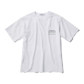 Rayshiso레이시소 Jurupa Arc Tour Tee S/S White