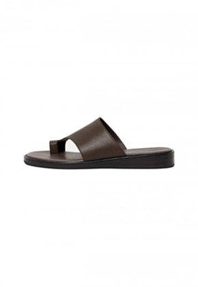 Anderssonbell앤더슨벨 ANDERSSON CROSSOVER LEATHER SANDALS aaa218m(Brown)