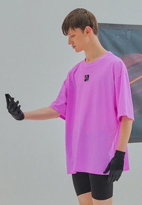 Fantastic Generation판타스틱 제너레이션 FG label t-shirt Pink