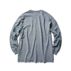Rayshiso레이시소 16oz L/S Pigment Blue All Ray