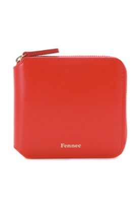 Fennec페넥 ZIPPER WALLET - RED