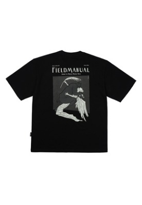 Field Manual필드메뉴얼 KISSOFPEACE TEE black
