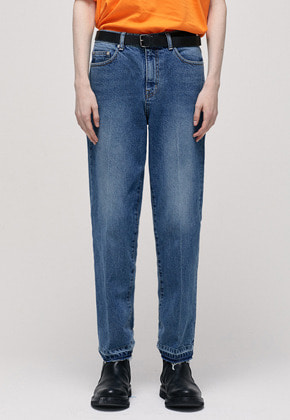Haleine알렌느 BLUE tapered jean(IB001)