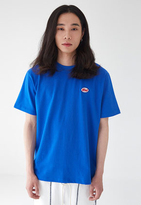 FFAI파이 BASIC WAPPEN T SHIRTS BLUE