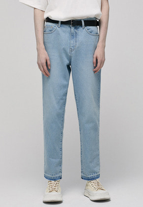 Haleine알렌느 LIGHTBLUE tapered jean(IB002)
