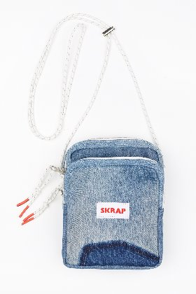 SKRAP스크랩 [SKRAP] DENIM small bag Blue