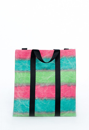 HAH ARCHIVE하 아카이브 3WAY SR1 COATED JUTE WAVE BAG