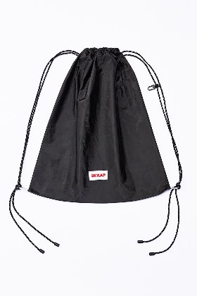 SKRAP스크랩 [SKRAP] TYVEK gym sack Black