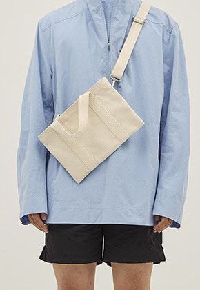 HAH ARCHIVE하 아카이브 4WAY XS COATED HEAVY CANVAS BAG