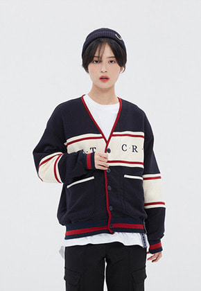 Romantic Crown로맨틱크라운 21C BOYS COTTON CARDIGAN_NAVY