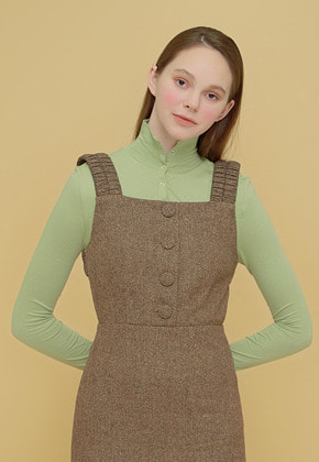 Margarin Fingers마가린핑거스 SNAP TURTLE NECK MINT