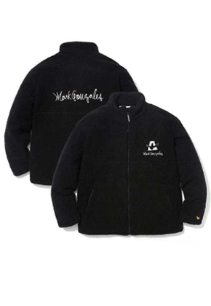 Markgonzales마크곤잘레스 M/G BOA ZIP UP JACKET BLACK