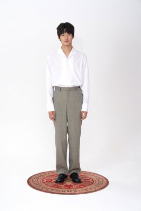 STU에스티유 Loosefit slacks light grey