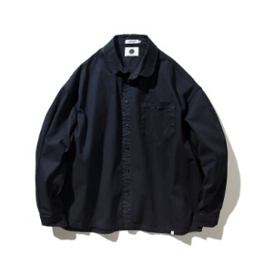 Rayshiso레이시소 O.S. Whiptale Shirt Jacket Navy