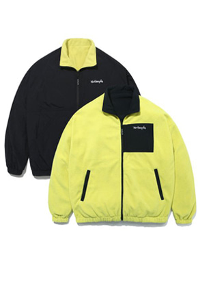 Markgonzales마크곤잘레스 M/G REVERSIBLE FLEECE JACKET NEON